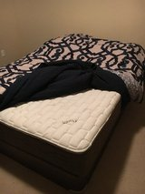 Queen mattress and box in Olympia, Washington