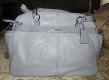 Coach Diaper Bag - blue in Camp Lejeune, North Carolina