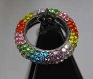 MULTI-COLOR RHINESTONES RING in Lakenheath, UK