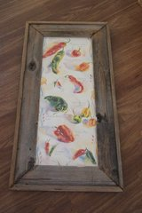 LARGE CHILI PEPPERS BARNWOOD PICTURE in Lakenheath, UK