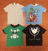 8 Boys S/S T-Shirts, sz 3T in Fort Campbell, Kentucky