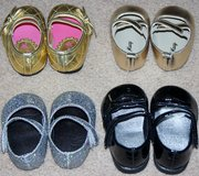 INFANT GIRLS SHOES x4 PAIRS in Lakenheath, UK