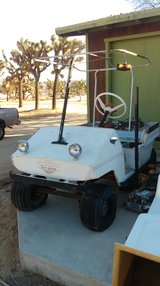 Tee Bird golf cart in 29 Palms, California