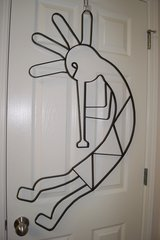 LARGE WROUGHT IRON KOKOPELLI  HANGING in Lakenheath, UK