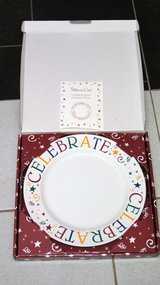 PAMPERED CHEF CELEBRATE PLATE IN BOX, NEVER USED in Lakenheath, UK