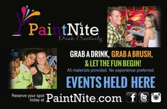 Paint Nite Events- Artist & Assistants needed in Fort Gordon, Georgia