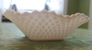 Vintage Milk White Candy Nut Dishes in Warner Robins, Georgia