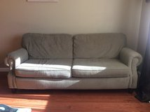 Olive green couch in Fairfield, California