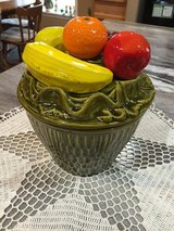 Vintage Cookie Jar-Fruit Basket Style in Fort Campbell, Kentucky