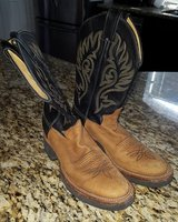Justin Teckno Crepe boots ~ size 7 in Kingwood, Texas