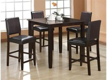 NEW Counter Height Dining Set in Beaufort, South Carolina