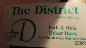 Woodlands Park & Ride tickets in Conroe, Texas