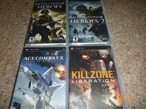 4 SONY PSP UMD GAMES in Naperville, Illinois
