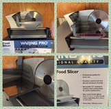 Meet Food Slicer Waring Pro  FS150 Professional Quality in Beaufort, South Carolina