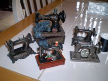 5 Miniature Sewing Machine Replicas in Houston, Texas