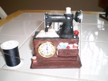 Sewing Machine Clock Piece (non working) in Houston, Texas
