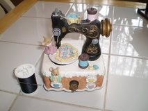 "Sewing Machine Music Box, plays ""Buttons & Bows"" in Houston, Texas"