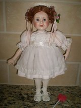 """Sara"", Porcelain Doll, 1991, Created by Patricia Rose in Houston, Texas"