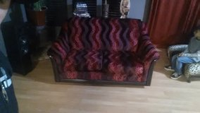 custom red leopard love seat in Barstow, California