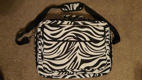 Zebra Print Laptop Bag in Lawton, Oklahoma