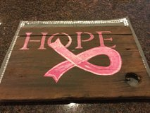 Hope Wood Sign in Plainfield, Illinois