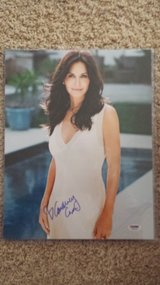 Actress Courtney Cox signed 11x14 in Fort Carson, Colorado