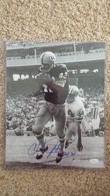 Redskins WR Charley Taylor signed 11x14 photo in Fort Carson, Colorado