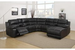 Johnny Sectional - Dark Brown - Black - White  - price includes delivery - in Grafenwoehr, GE