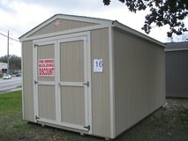 USED 10x16 Utility Storage Building Shed DISCOUNTED!!! in Moody AFB, Georgia