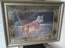 Kirkland's large Tiger picture in Fort Campbell, Kentucky