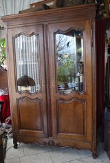 gorgeous antique library / display cabinet in Ansbach, Germany