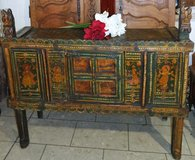antique wedding cabinet from India in Grafenwoehr, GE
