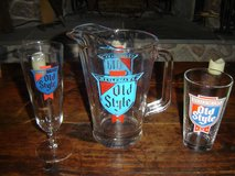 Old Style Glasses and Pitcher in Sugar Grove, Illinois