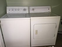 Washer and dryer avail. 2/6/16 in Columbus, Ohio
