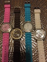 Beautiful Big Faced Silicone Band Watches in Alamogordo, New Mexico