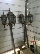 Outdoor Electric Lights - set in Montgomery, Alabama