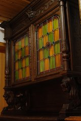 China cabinet from ca. 1890 in Ramstein, Germany