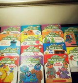1989 Vintage On My Way With Sesame Street Books Hardcover Set in Westmont, Illinois