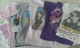 Justin Bieber Shirts (little girl's size) in Fort Lee, Virginia