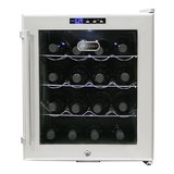 Whynter WC-16S SNO 16 Bottle Wine Cooler, Platinum with Lock in Fort Polk, Louisiana
