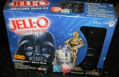 Star Wars Jigglers JELLO Mold Trays + Mix Darth Vader C3-P0 Chewy R2-D2 in Kingwood, Texas