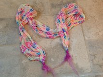 Pastel Peace Sign Scarf from Justice in Batavia, Illinois