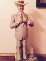 JR Ewing whiskey decanter in Kankakee, Illinois