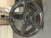 Set of 16 inch  chrome rims in Plainfield, Illinois