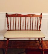 Antique Bench in Fairfax, Virginia