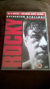 rocky 6 dvd boxset in Lakenheath, UK