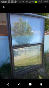"4 Double pane used windows Bronze Color 36""(w)  x 52""(h) in Alamogordo, New Mexico"