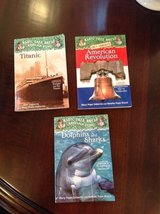 "Magic Tree House Research Guides (Fact Tracker) + ""Who Was"" Book in St. Charles, Illinois"