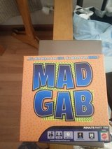 """MAD GAB"" BOARD GAME in Bartlett, Illinois"