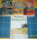 Nora Roberts~~4 book Chesapeak Bay Series~~ in Yucca Valley, California